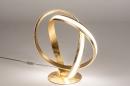 Tafellamp 14362: design, modern, eigentijds klassiek, messing #3