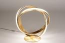 Tafellamp 14362: design, modern, eigentijds klassiek, messing #4