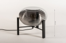 Tafellamp 14923: industrie, look, design, modern #1