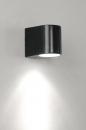 applique_murale-30190-moderne-noir-mat-acier-rond-rectangulaire