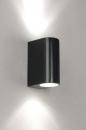 applique_murale-30191-moderne-noir-mat-acier-rond-rectangulaire