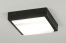 Deckenleuchte-30554-modern-schwarz-Aluminium-Kunststoff-Polycarbonat-viereckig