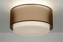 ceiling_lamp-30656-modern-retro-brown-fabric-round