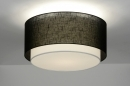 ceiling_lamp-30659-modern-retro-black-metal-fabric-round