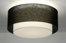 ceiling_lamp-30660-modern-retro-black-metal-fabric-round