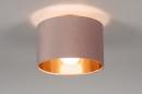 Plafondlamp 30911: modern, retro, eigentijds klassiek, art deco #1