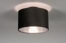 Plafondlamp 30912: modern, retro, eigentijds klassiek, stof #1