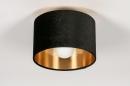 Plafondlamp 30914: modern, retro, eigentijds klassiek, art deco #2