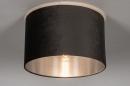 Plafondlamp 30916: modern, retro, eigentijds klassiek, stof #1