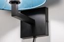 Wandlamp 30935: zwart, mat, blauw #8