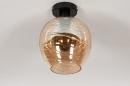 Plafondlamp 30939: modern, retro, eigentijds klassiek, art deco #3