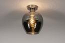 Plafondlamp 30940: modern, retro, eigentijds klassiek, glas #2
