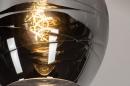Plafondlamp 30940: modern, retro, eigentijds klassiek, glas #4
