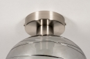 Plafondlamp 30940: modern, retro, eigentijds klassiek, glas #6