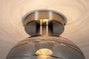 Plafondlamp 30940: modern, retro, eigentijds klassiek, glas #7
