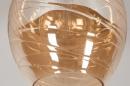 Plafondlamp 30941: modern, retro, eigentijds klassiek, glas #5