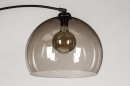 Vloerlamp 30945: modern, retro, glas, kunststof #7