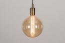 Hanglamp 30982: industrie, look, modern, eigentijds klassiek #1