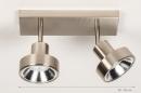 Spot 30988: modern, staal rvs, metaal, staalgrijs #1