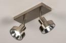 Spot 30988: modern, staal rvs, metaal, staalgrijs #3