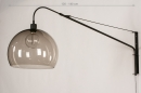 Wandlamp 30995: modern, retro, eigentijds klassiek, glas #1