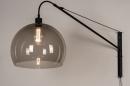 Wandlamp 30995: modern, retro, eigentijds klassiek, glas #3