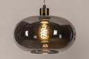 Hanglamp 31007: modern, retro, eigentijds klassiek, art deco #8