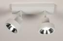 Spot 31015: modern, metaal, wit, langwerpig #4