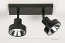 Spot 31016: modern, metaal, zwart, langwerpig #1