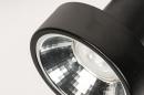Spot 31016: modern, metaal, zwart, langwerpig #11