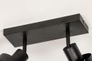 Spot 31016: modern, metaal, zwart, langwerpig #12