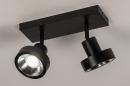 Spot 31016: modern, metaal, zwart, langwerpig #2