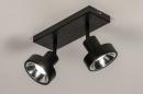 Spot 31016: modern, metaal, zwart, langwerpig #3