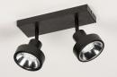 Spot 31016: modern, metaal, zwart, langwerpig #5