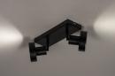 Spot 31016: modern, metaal, zwart, langwerpig #7