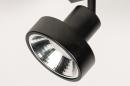 Spot 31016: modern, metaal, zwart, langwerpig #9