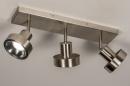 Spot 31018: modern, staal rvs, metaal, staalgrijs #3