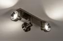 Spot 31018: modern, staal rvs, metaal, staalgrijs #6
