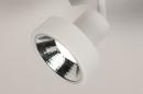Spot 31019: modern, metaal, wit, langwerpig #7