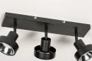 Spot 31020: modern, metaal, zwart, langwerpig #11