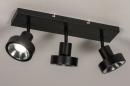 Spot 31020: modern, metaal, zwart, langwerpig #3