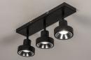 Spot 31020: modern, metaal, zwart, langwerpig #4