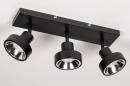 Spot 31020: modern, metaal, zwart, langwerpig #5