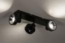Spot 31020: modern, metaal, zwart, langwerpig #6