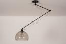 Hanglamp 31027: modern, retro, eigentijds klassiek, glas #1