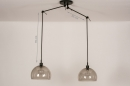 Hanglamp 31028: modern, retro, eigentijds klassiek, glas #1