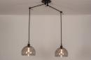 Hanglamp 31028: modern, retro, eigentijds klassiek, glas #2