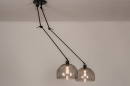 Hanglamp 31028: modern, retro, eigentijds klassiek, glas #3
