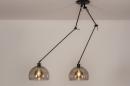 Hanglamp 31028: modern, retro, eigentijds klassiek, glas #4