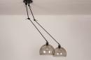 Hanglamp 31028: modern, retro, eigentijds klassiek, glas #5